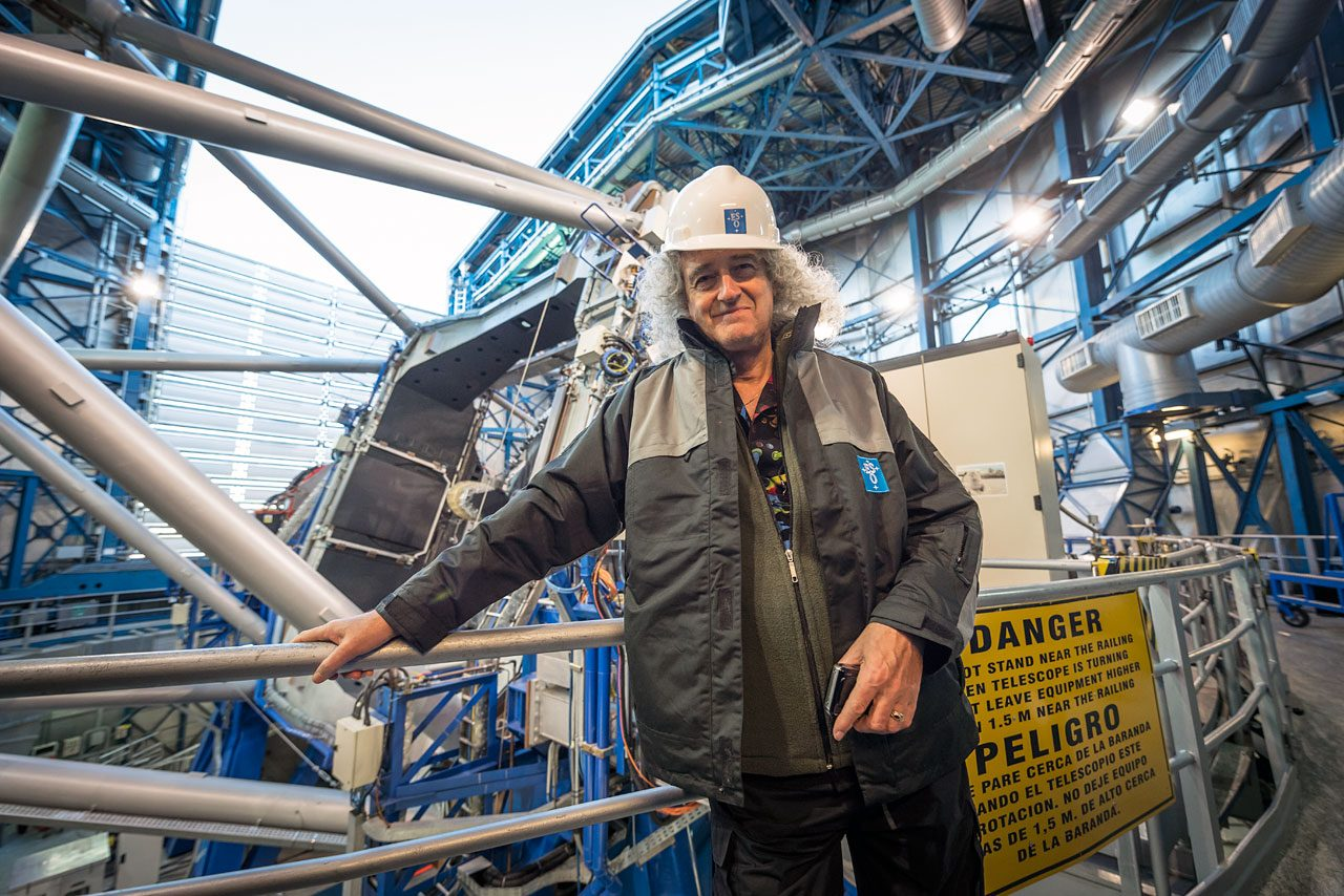 Brian May, celebrity astrophysist