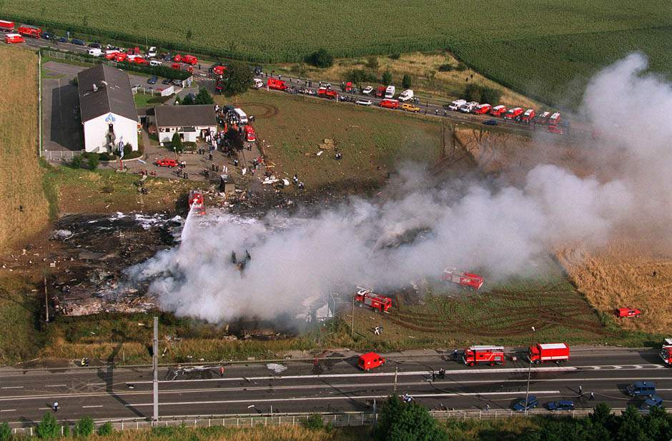 Air Frace concorde crash