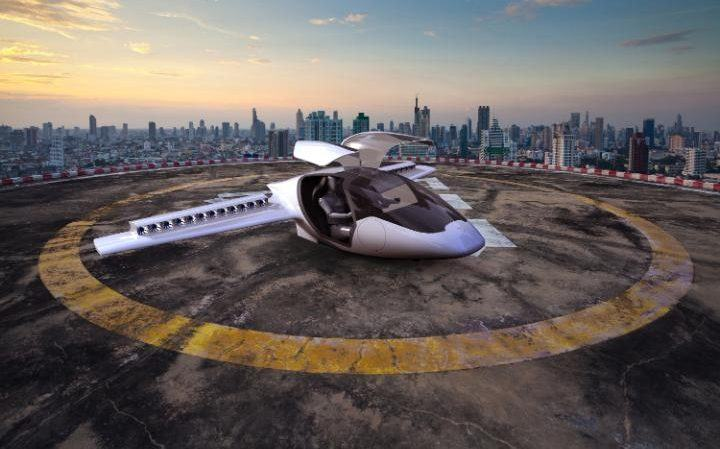 lilium aircraft on launchpad