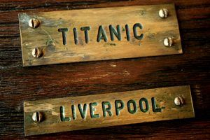 details of the ship Titanic shipwreck