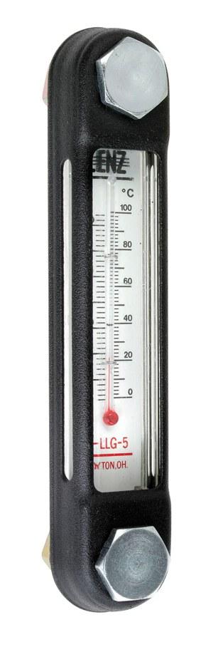 Hydraulic fluid level indicator