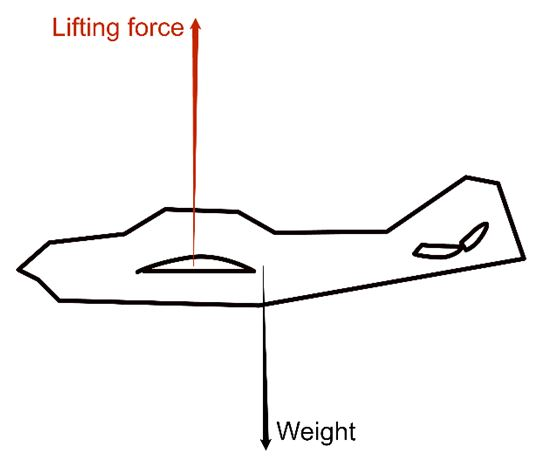 How does an aircraft fly?