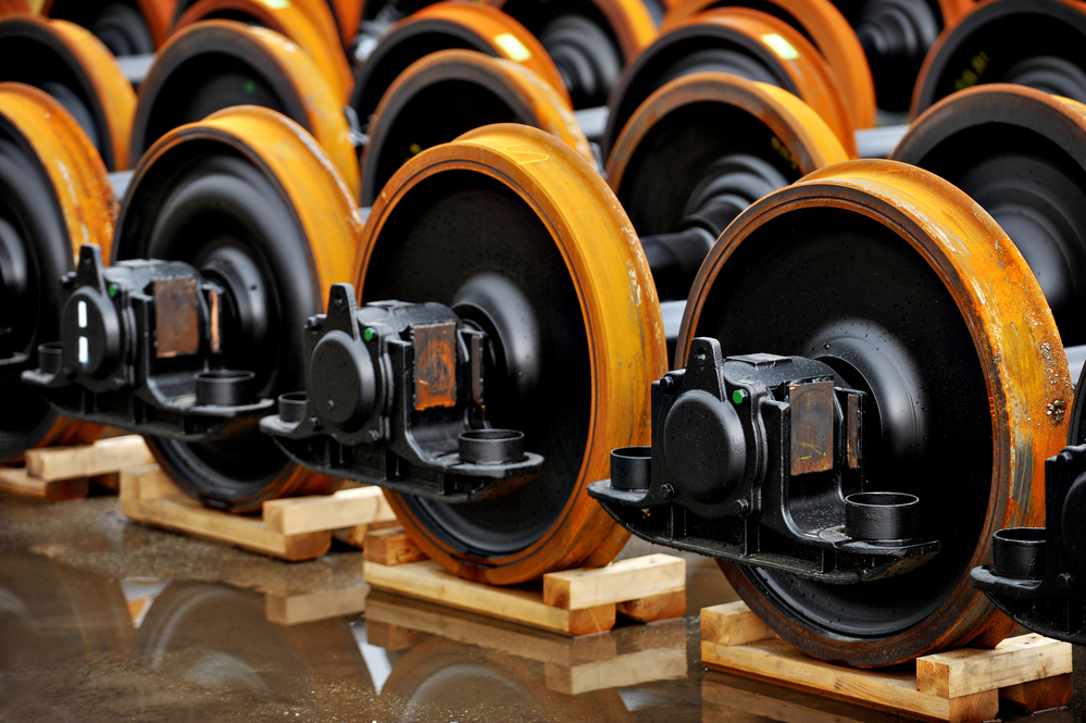 centrifugal casting - train wheels