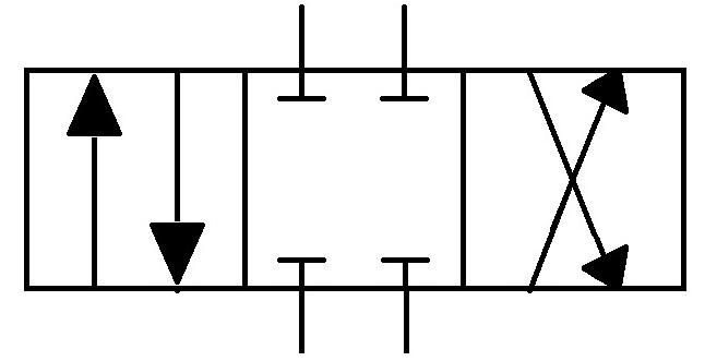 4 port 3 position DCV