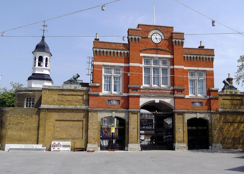 Woolwich Arsenal ROF - British mechanical engineering