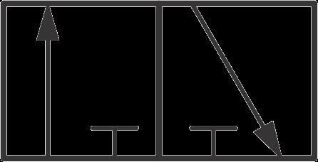 hydraulic symbols - hydraulic direction control valve