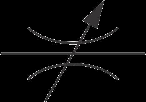 hydraulic symbols - hydraulic flow control valve