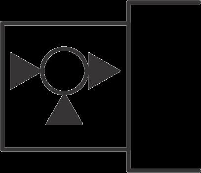 hydraulic symbols - servo controlled
