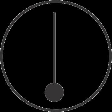 hydraulic symbols - temperature indicator