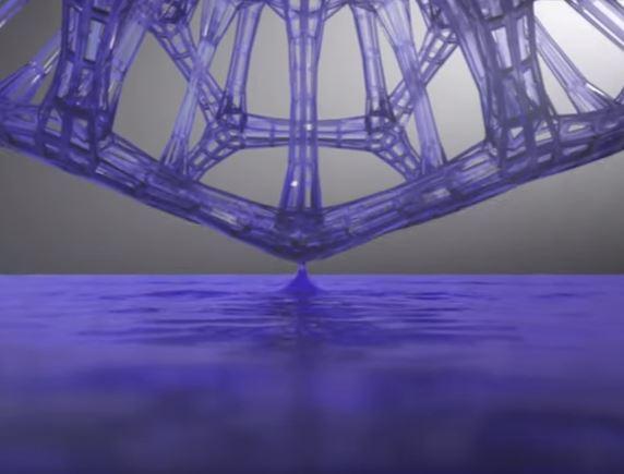 CLIP 3D printing