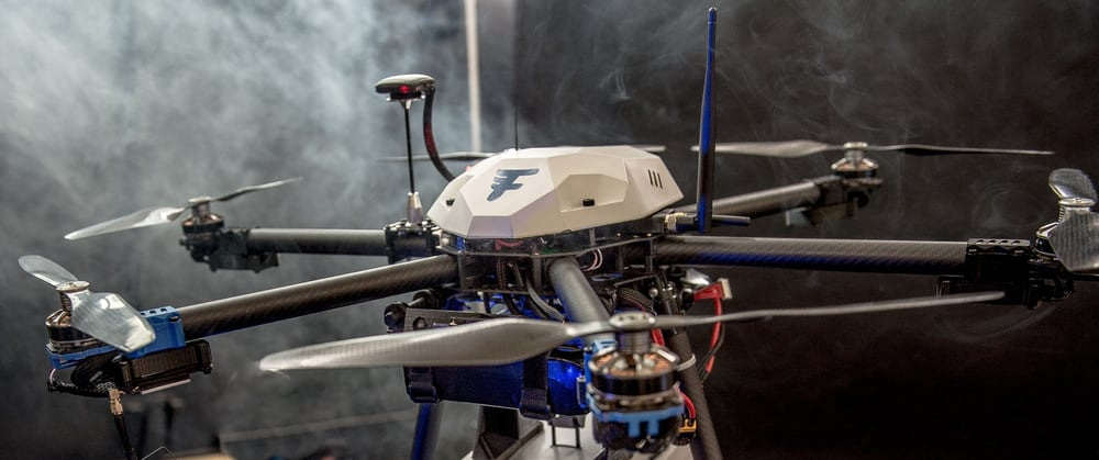 Flirtey delivery drone