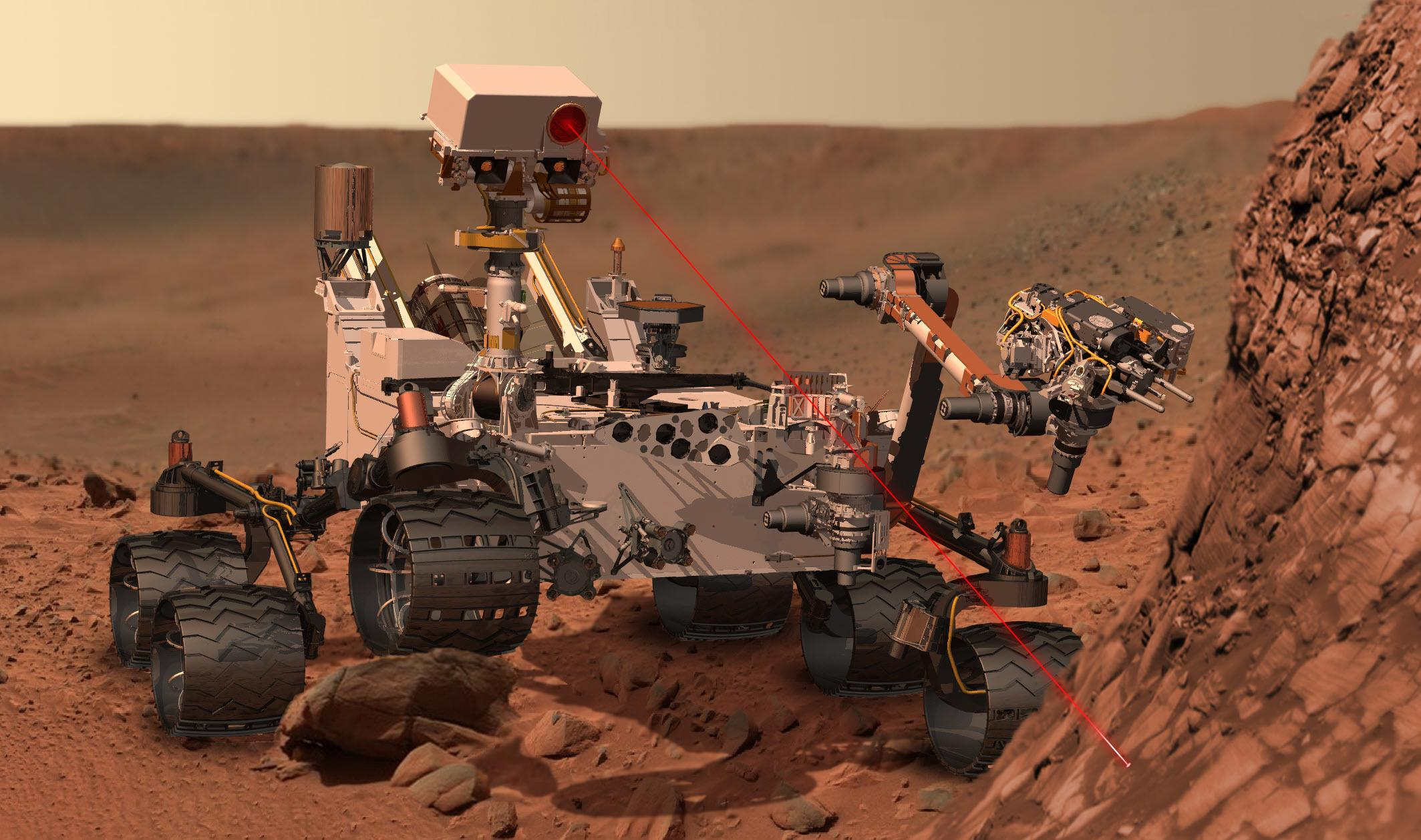curiosity rover work for nasa