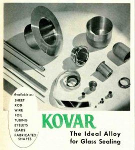 kovar metal alloy