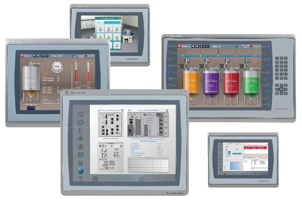 panelview graphic terminals for the engineering sector