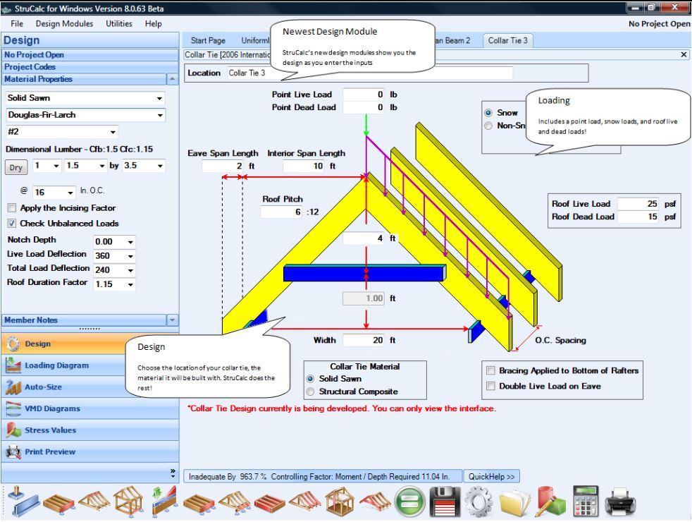 StruCalc screenshot