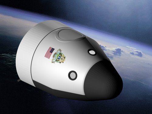 Blue Origin orbital spacecraft