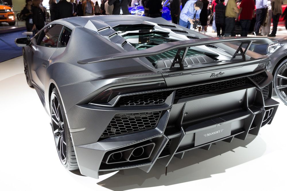 Recycling Carbon Fibre - the Lamborghini Huracan