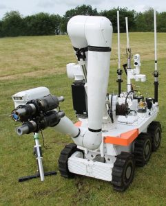 military bom disposal robotics