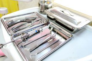 Dental tools made from 304 stainless steel