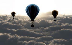 buoyancy hot air balloon