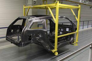 BMW i3 carbon fibre chassis