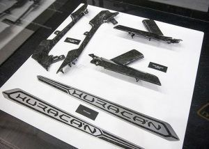 ''Forged Composite'' parts for the Lamborghini Huracán