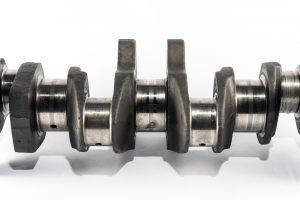 A crankshaft made from maraging steel