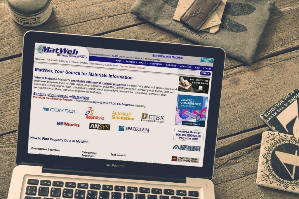 Alternative websites to matweb
