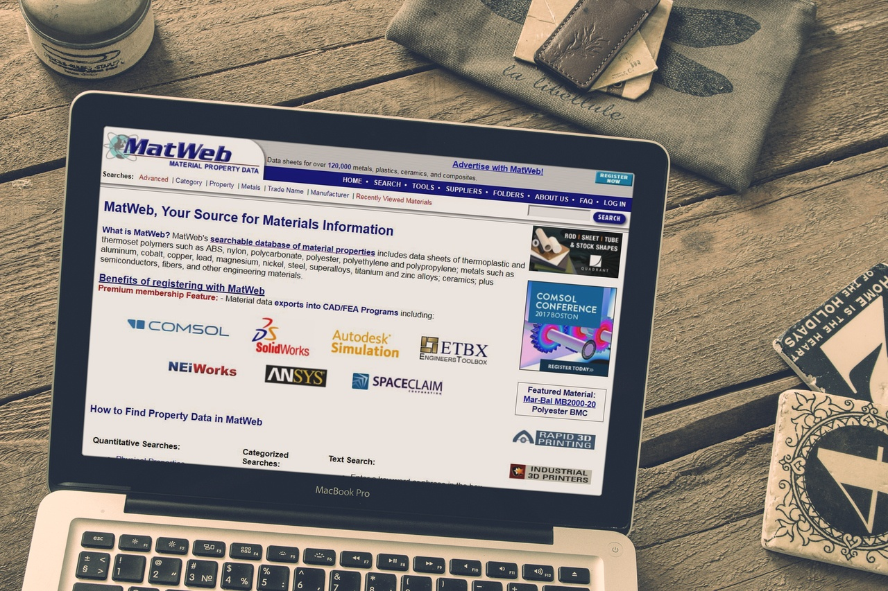 Alternative websites to matweb