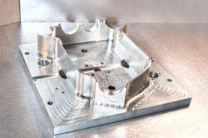 6061-T6 aluminium machined part
