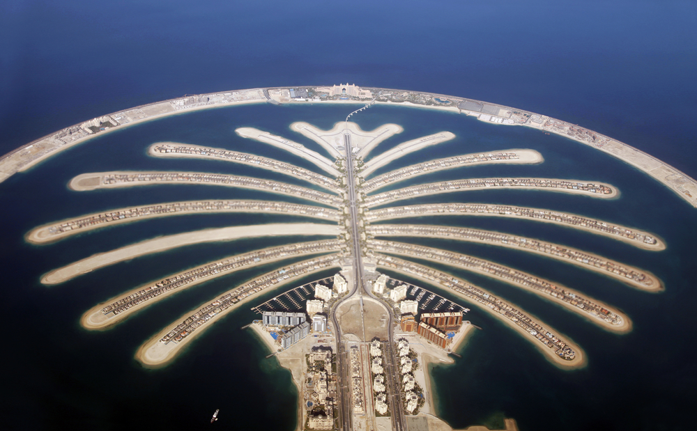 Great Engineering Feats - palm islands dubai