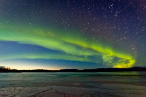 Ionized Gas As Fuel - Northern Lights