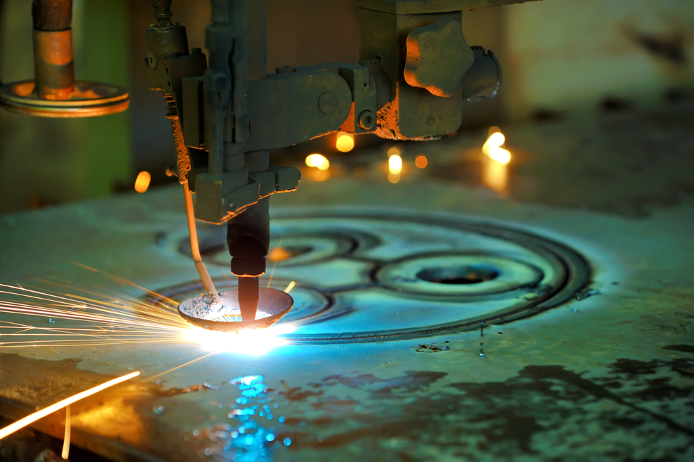 Ionized Gas As Fuel - Plasma arc cutting