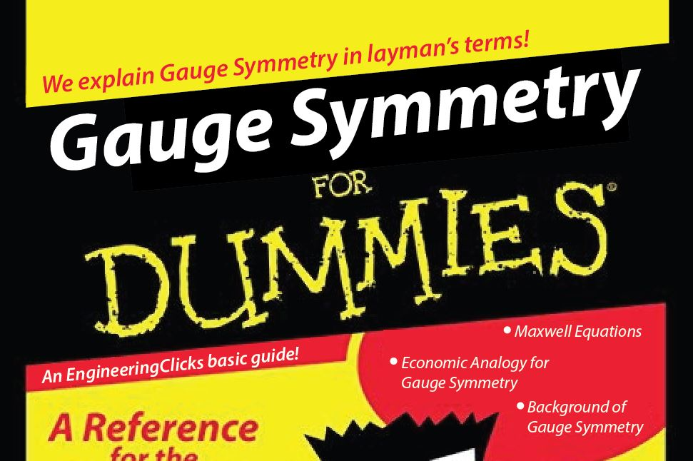 gauge symmetry for dummies
