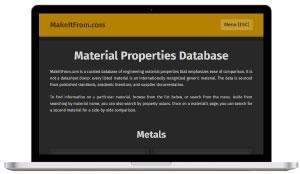 makeitfrom.com - material database