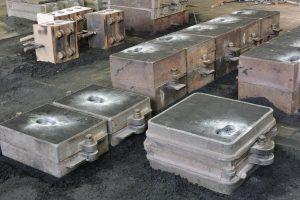 sand casting of 772 aluminium alloy