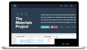 the materials project - material database