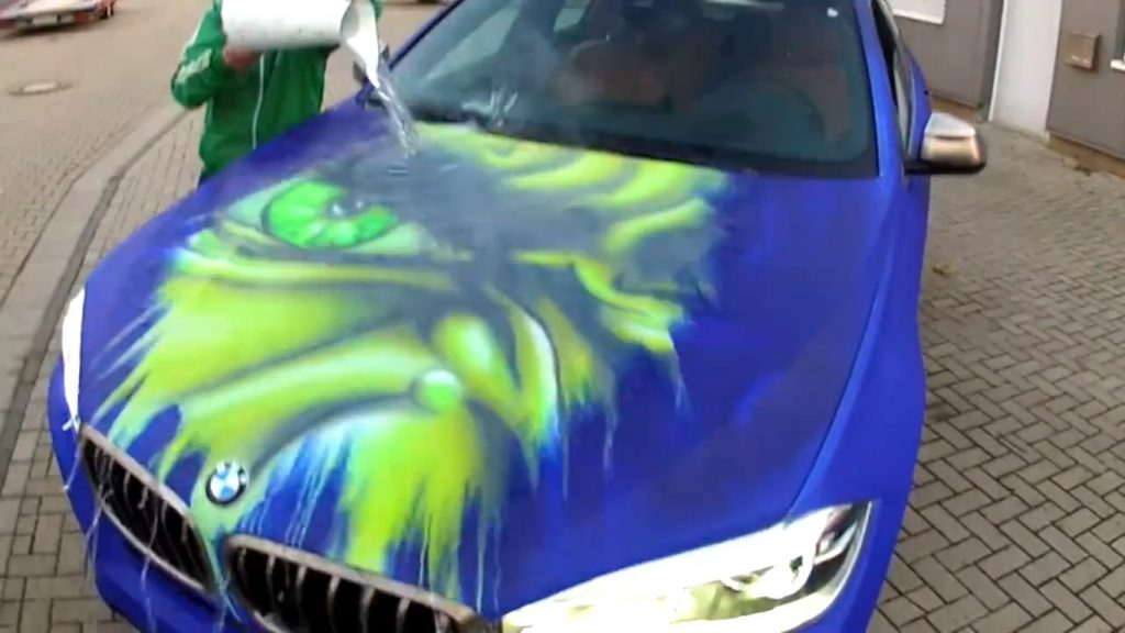 thermochromic paint bmw