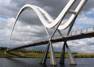 infinity bridge in Stockton-on-Tees