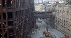 World Trade Center South Tower under construction