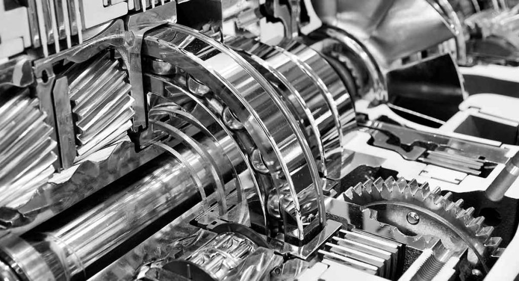 electropolished engine