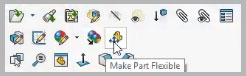 Solidworks 2020 flexible components