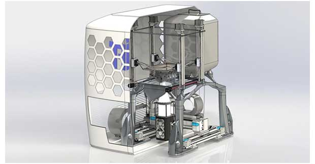 The revolutionary metal 3D printer developed at TU Graz