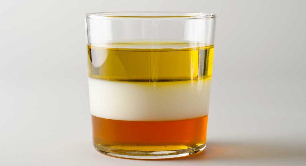 density of milk