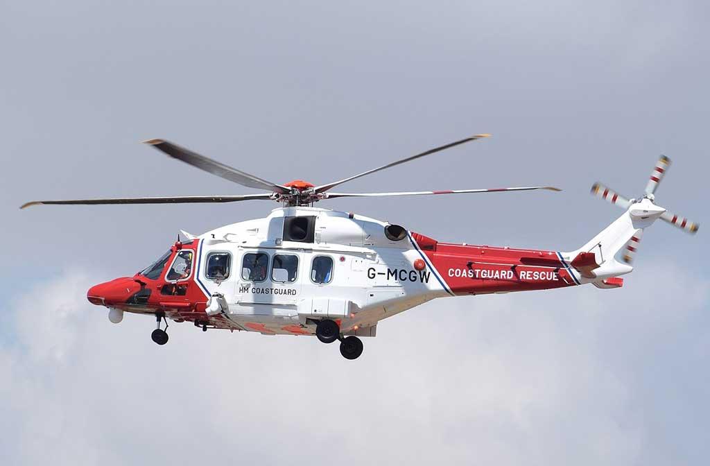 Tio 10 Aerospace companies: AgustaWestland helicopter manufactured by Leonardo S.p.A.