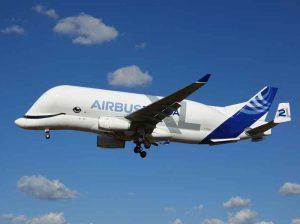 Tio 10 Aerospace companies: Airbus Beluga XL