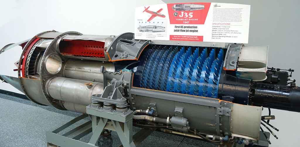General Electric's Allison J35 engine
