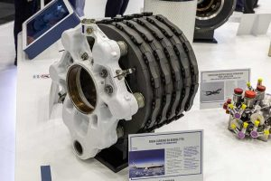 Boeing 777X carbon brakes made by Safran Landing Systems