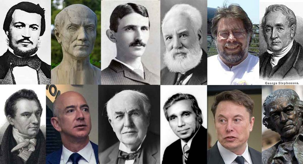famous engineers who changed the world