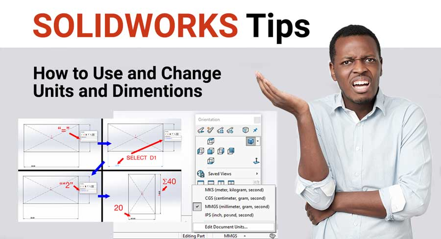 How to change units in Solidworks (tutorial)